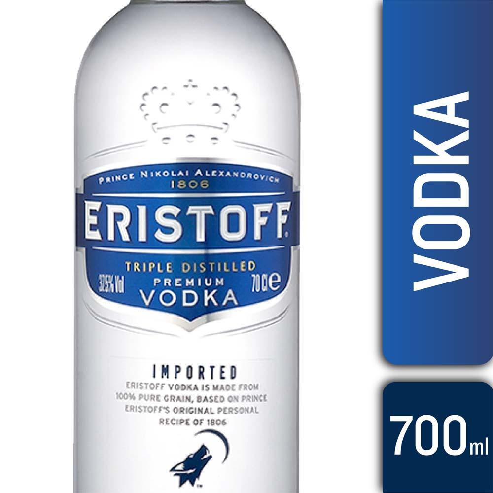 VODKA ERISTOFF 700mls