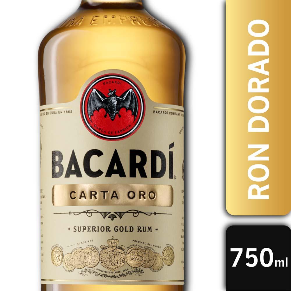 BACARDI CARTA ORO 40° 750mls