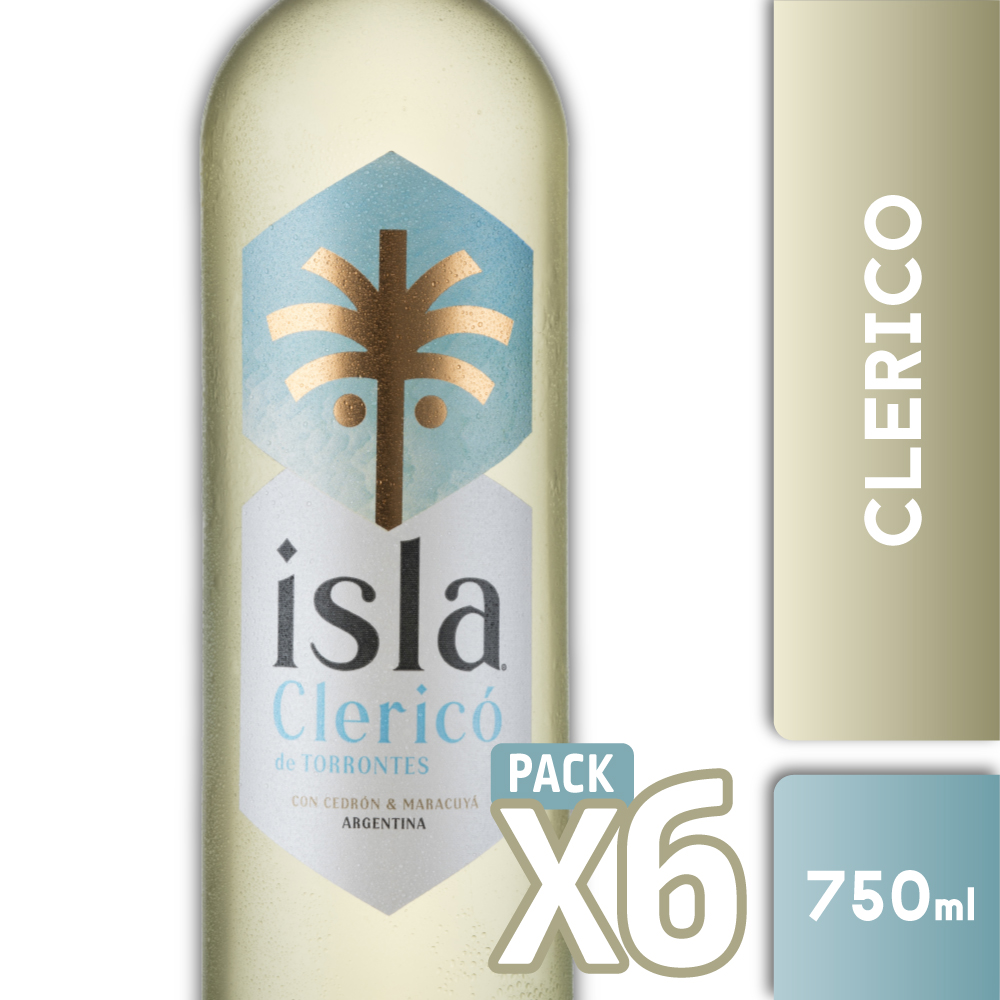 ISLA CLERICO DE TORRONTES 750ml PACK x6