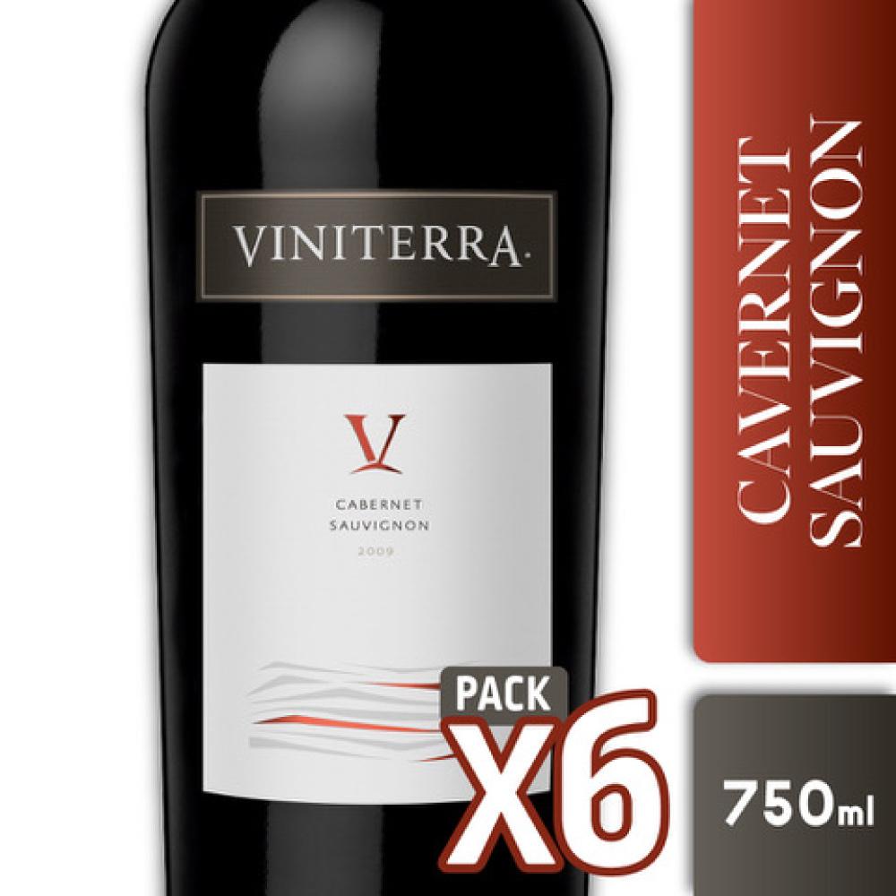 VINITERRA CABERNET SAUV. 750cc PACK x6