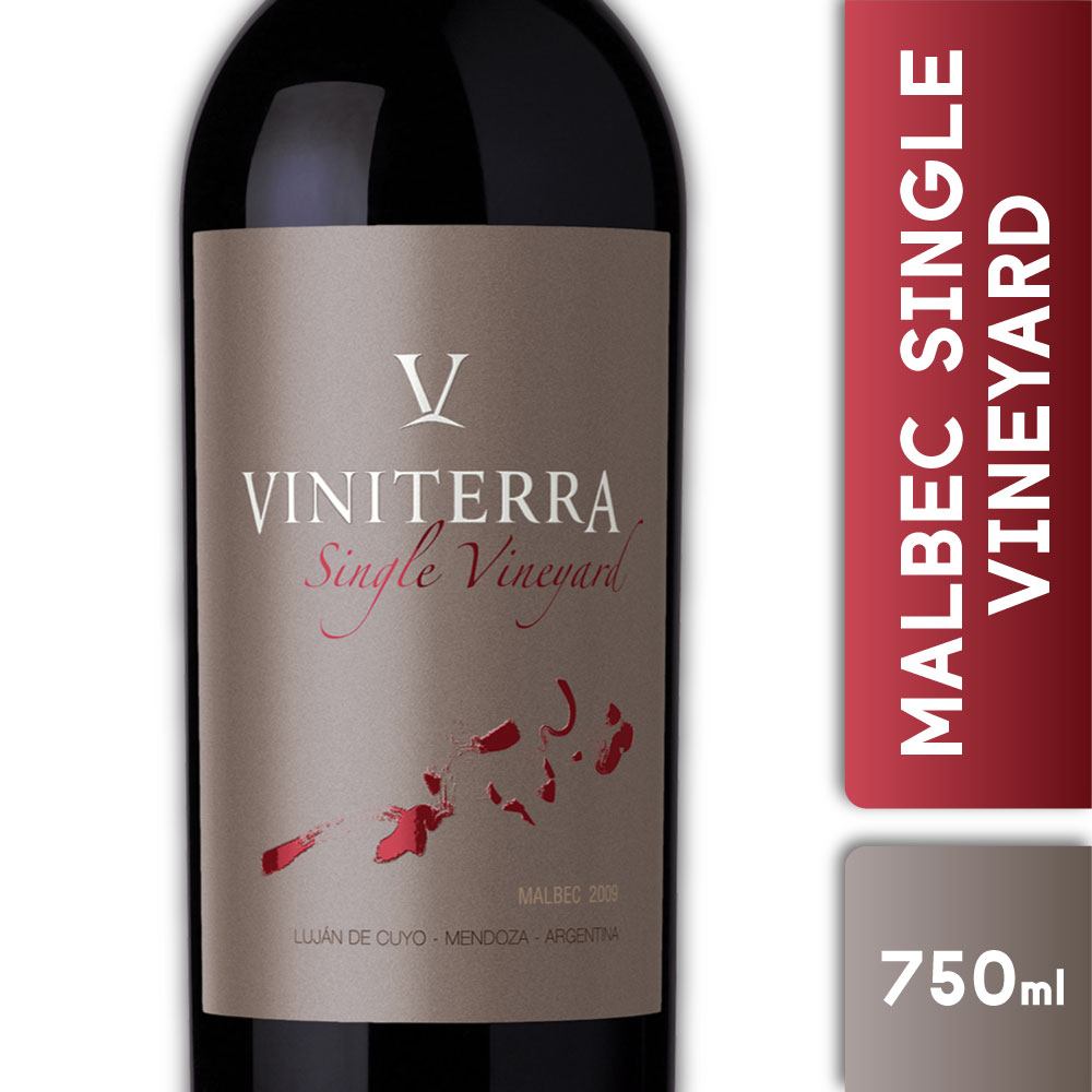 VINITERRA MALBEC SINGLE VINEYARD 750ml