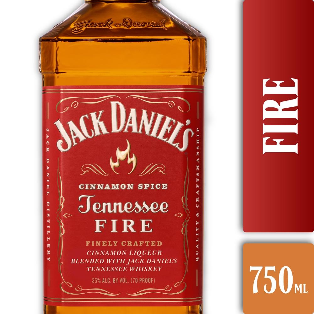 JACK DANIELS FIRE 750mls
