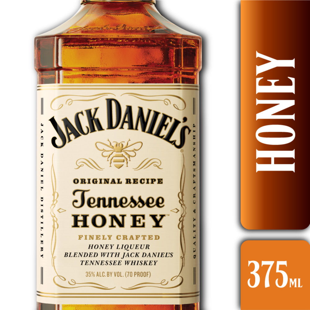 JACK DANIELS HONEY 40° 375mls