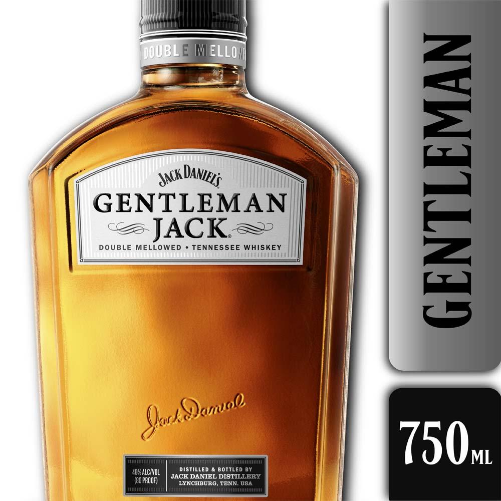 JACK DANIELS GENTLEMAN 750mls
