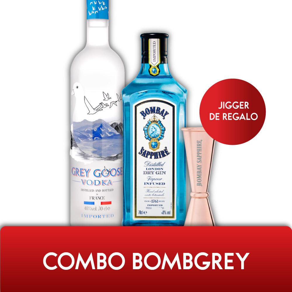 Combo BOMBGREY + JIGGER DE REGALO