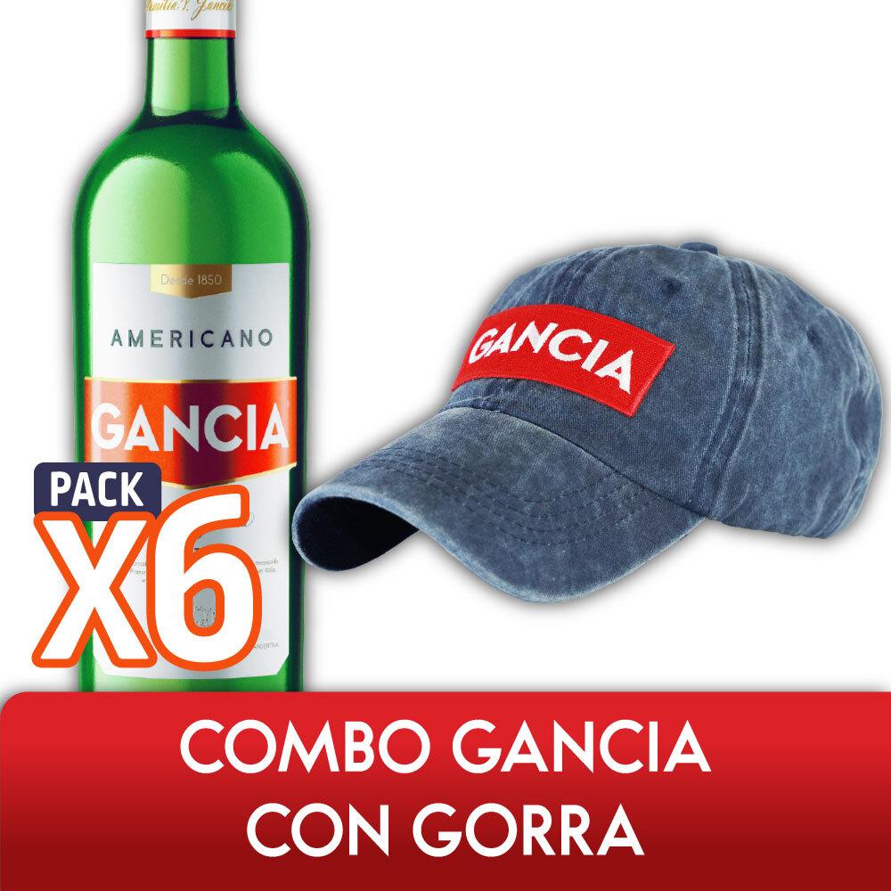 Combo GANCIA CON GORRA