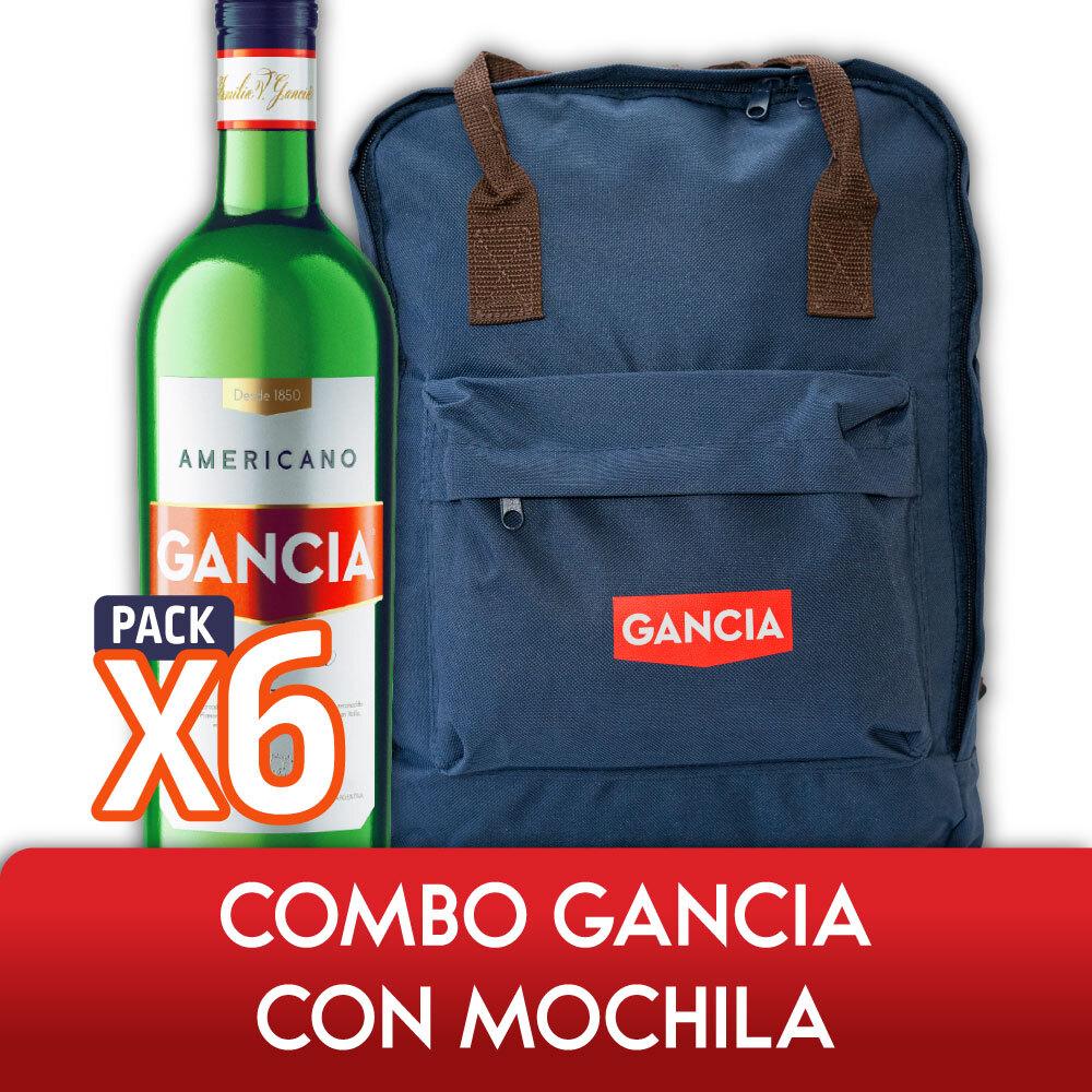 Combo GANCIA CON MOCHILA