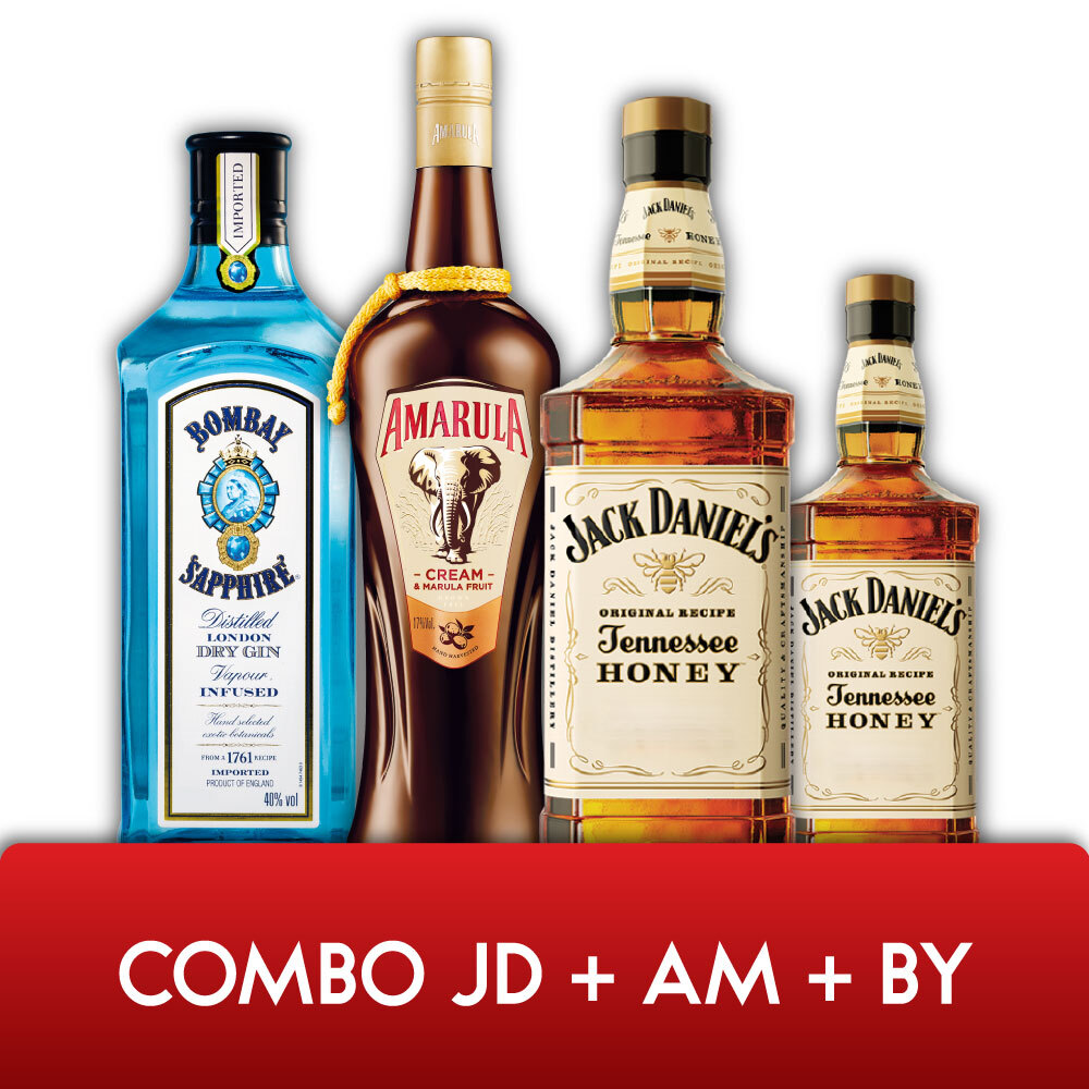 Combo JD + AM + BY