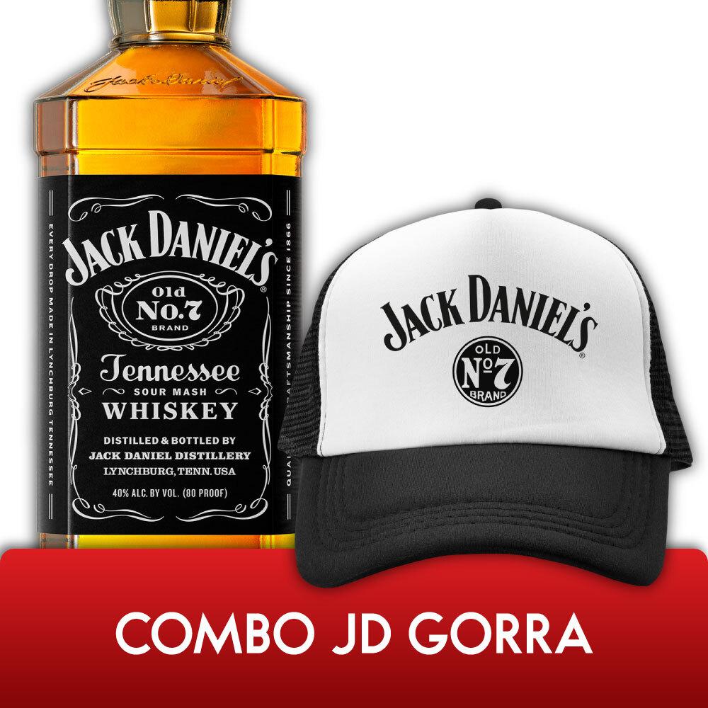 Jack Daniels N°7 1,75L + Gorra N°7